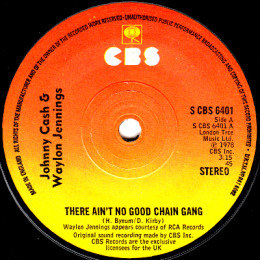 There Ain't No Good Chain Gang (S CBS 6401)