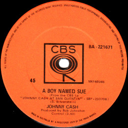 A Boy Named Sue (CBS BA 221671)