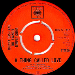A Thing Called Love (CBS S 7797) - variant 1