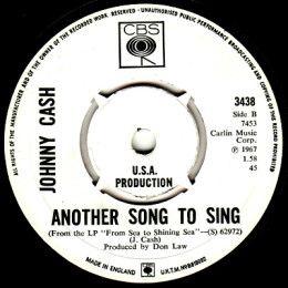 Another Song To Sing (CBS 3438) promo