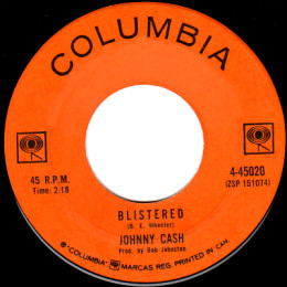 Blistered (Columbia 4-45020)