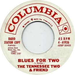 Blues For Two (Columbia 4-41926)p