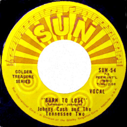 Born To Lose (Sun International 54) variant label 2