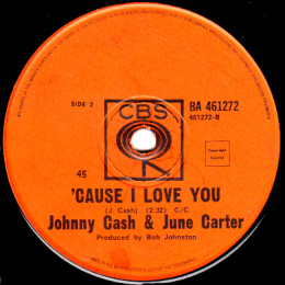 'Cause I Love You (CBS BA 461272)