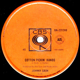 Cotton Pickin' Hands (CBS BA 221260)