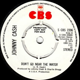 Don't Go Near The Water (S CBS 2396) promo