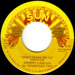 Don't Make Me Go (Sun International 17) variant 1