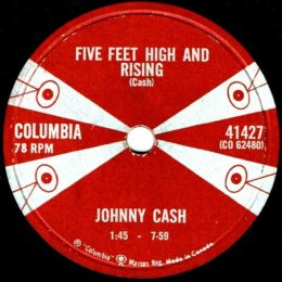 Five Feet High And Rising (Columbia 41427) 78 rpm