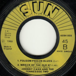 Folsom Prison Blues Wreck-Of The Old 97 (Sun Int 6094 008)