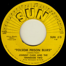 Folsom Prison Blues. (Sun International 3)
