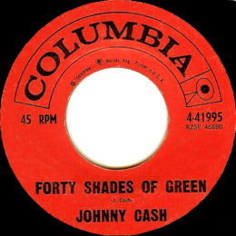 Forty Shades Of Green (Columbia 4-41995)