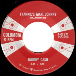 Frankie's Man Johnny (Columbia 4-41371) can