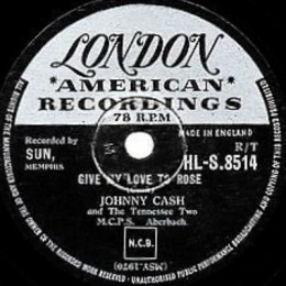 Give My Love To Rose (London HLS 8514) 78 rpm