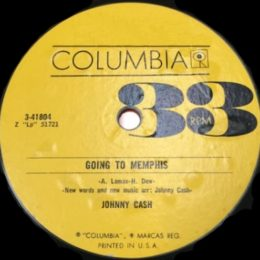 Going To Memphis (Columbia 3-41804) 33rpm