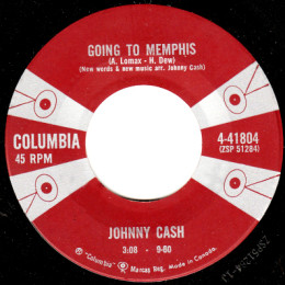 Going To Memphis (Columbia 4-41804)