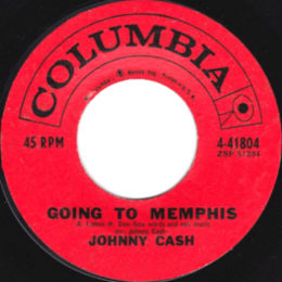 Going To Memphis (Columbia 4-41804) variant 2
