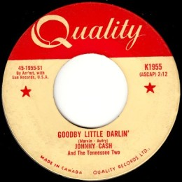 Goodby Little Darling (Quality K 1955)