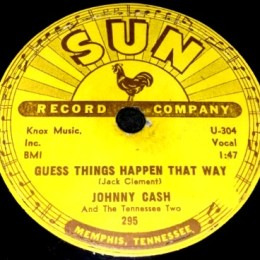 Guess Things Happen That Way(Sun 295) 78rpm