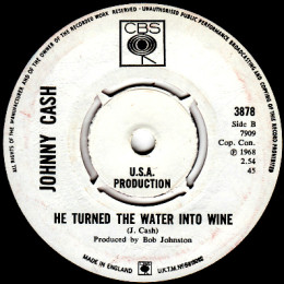 He Turned The Water Into Wine (CBS 3878) promo