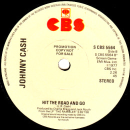 Hit The Road And Go (CBS 5564) promo