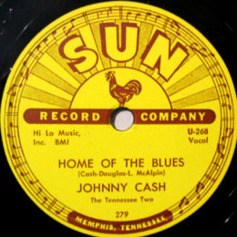 Home Of The Blues (Sun 279) 78rpm  - variant 2