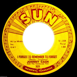 I Forget To Remember To Forget (Sun 321)