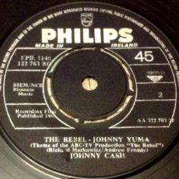 The Rebel Johnny Yuma (Philips 1148) black label