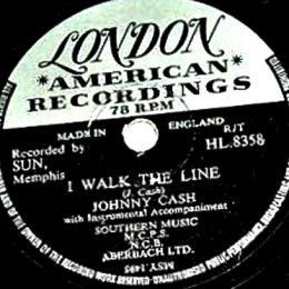 I Walk The Line 78 rpm
