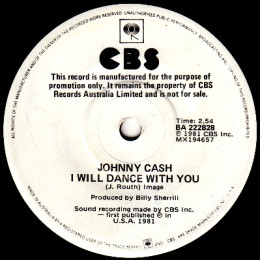 I Will Dance With You (CBS BA 222828) promo
