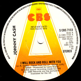 I Will Rock And Roll With You (CBS 7153) promo