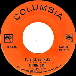 I'd Still Be There (Columbia 4-42788) variant 2