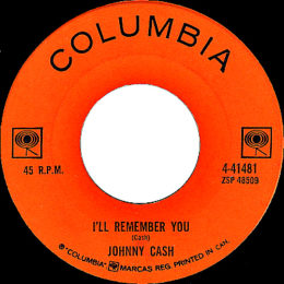I'll Remember You (Columbia 4-41481) variant