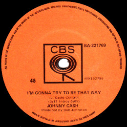 I'm Gonna Try To Be That Way (CBS BA 221769)