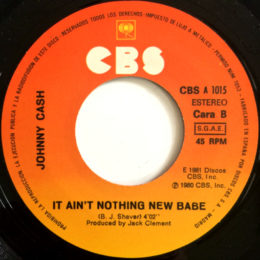 It Ain't Nothing New Babe (CBS A 1015) spain
