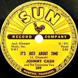 It's Just About Time (Sun 309) 78rpm - variant 1