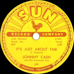 It's Just About Time (Sun 309) 78rpm - variant 2