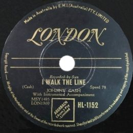 I Walk The Line (London HL1152) aust