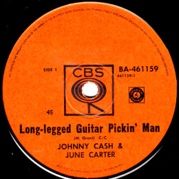 Long-Legged Guitar Pickin' Man (CBS BA 461159)