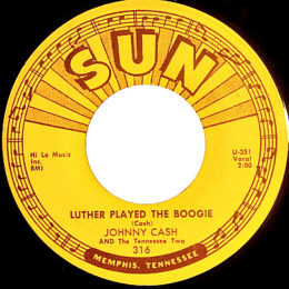 Luther Played The Boogie. (Sun 316) - variant 3