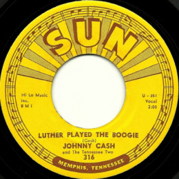 Luther Played The Boogie. (Sun 316) - variant 1