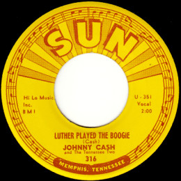 Luther Played The Boogie. (Sun 316) - variant 2
