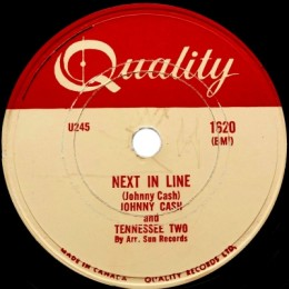 Next In Line (Quality 1620) 78rpm
