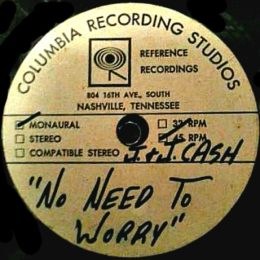 No Need To Worry (test pressing)