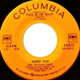 Peace In The Valley ( Columbia 4-42615)