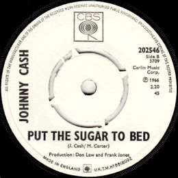 Put The Sugar To Bed (CBS 202546) promo