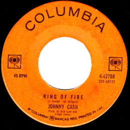 Ring Of Fire (Columbia 4-42788)