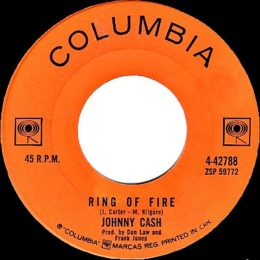 Ring Of Fire (Columbia 4-42788) variant 2