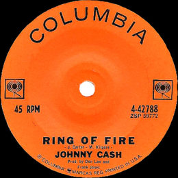 Ring Of Fire (Columbia 4-42788) variant 3.