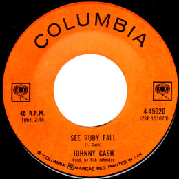 See Ruby Fall (Columbia 4-45020)