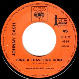 Sing A Traveling Song (CBS 4934)